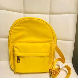 Forever 21 Yellow Mini Backpack